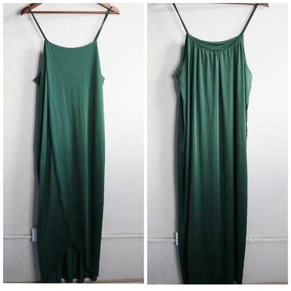 ✨NWOT✨Maxi wrap dress